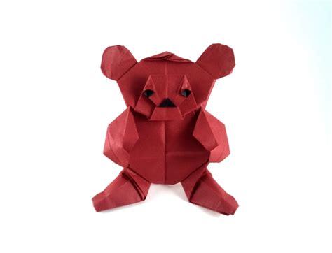 Origami Teddy - nicolas terry gilad s origami page