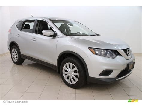 silver nissan rogue 2014 brilliant silver nissan rogue s awd 113197521