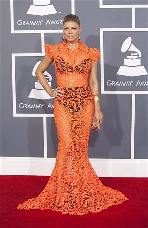 Grammy Awards Fergie by The Outrageous Grammy Dresses We Re Still Talking About