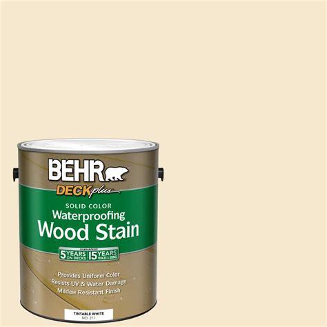 behr deckplus  gal white base solid color waterproofing