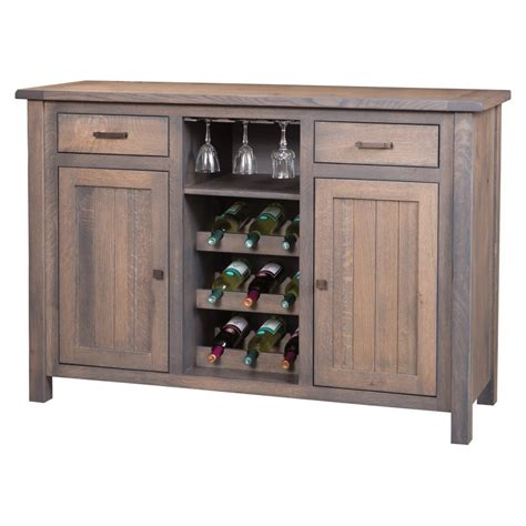 adele wine cabinet amish crafted furniture