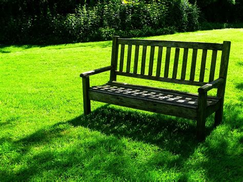 maintenance free garden bench boost employee morale with commercial landscaping