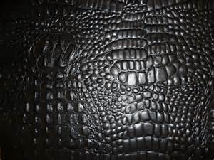 closeout 12x12 gorgeous black alligator