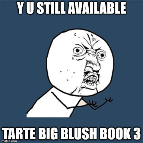 feeling out of volume 3 books i feel slightly disappointed the tarte big blush book