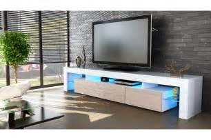 meuble tv 2 portes 189 cm trendymobilier