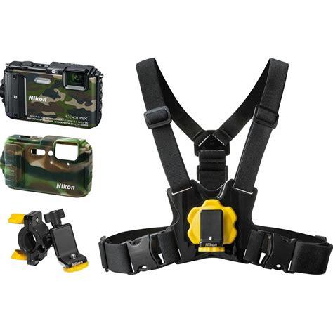 nikon camouflage nikon coolpix aw130 camouflage outdoor kit