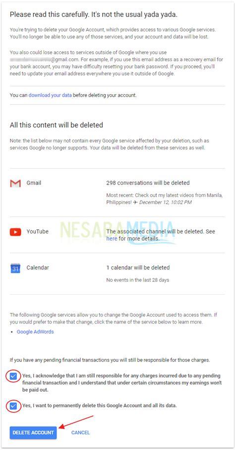 cara membuat akun gmail lewat komputer 2 cara menghapus akun gmail lewat pc android terbaru 2018