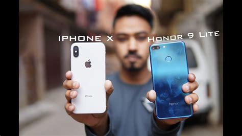 honor  lite  apple iphone  camera comparison youtube