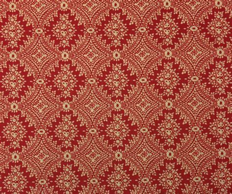 designer fabric ballard designs sydney berry red medallion linen designer