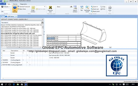 global epc automotive software volvo prosis offline 2015