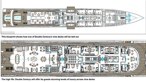 Luxury Yacht Floor Plans by Double Century Super Yacht Project Triple Deuce 222msuper