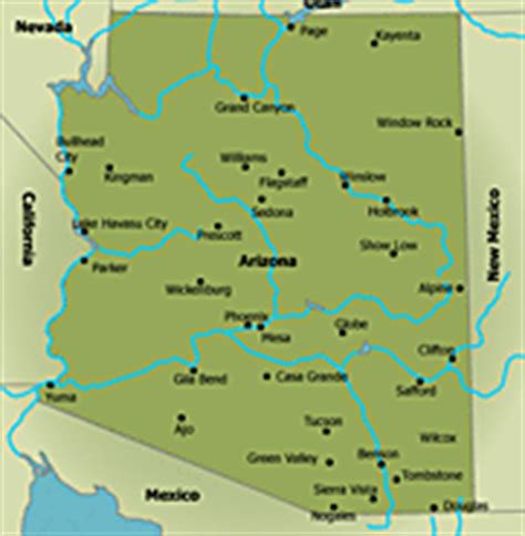 map of lakes in arizona 404 not found