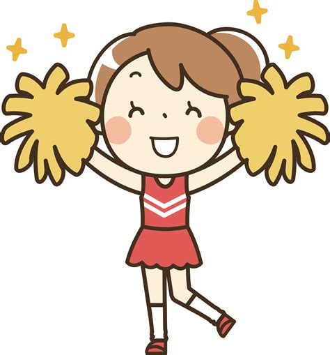 cheerleading clipart clipart 1 remixed