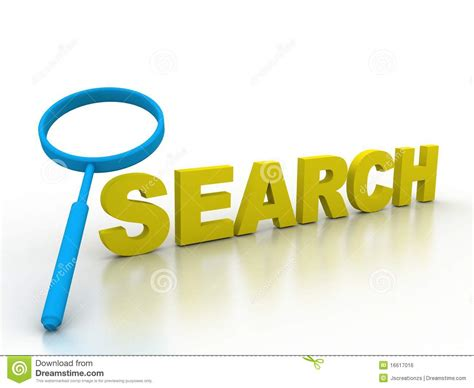 Finding Free Search Search Find Information Detective Research Royalty Free Stock Image Image 16617016