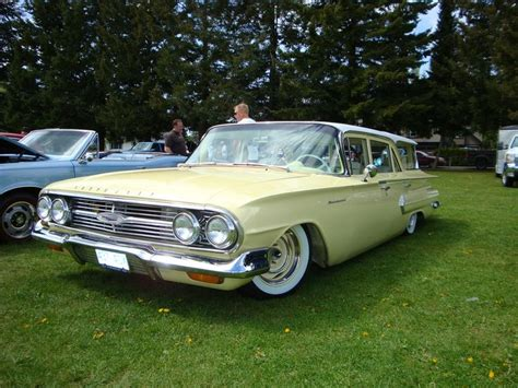 529 Chevy Nomad 1960 chevrolet brookwood station wagon car
