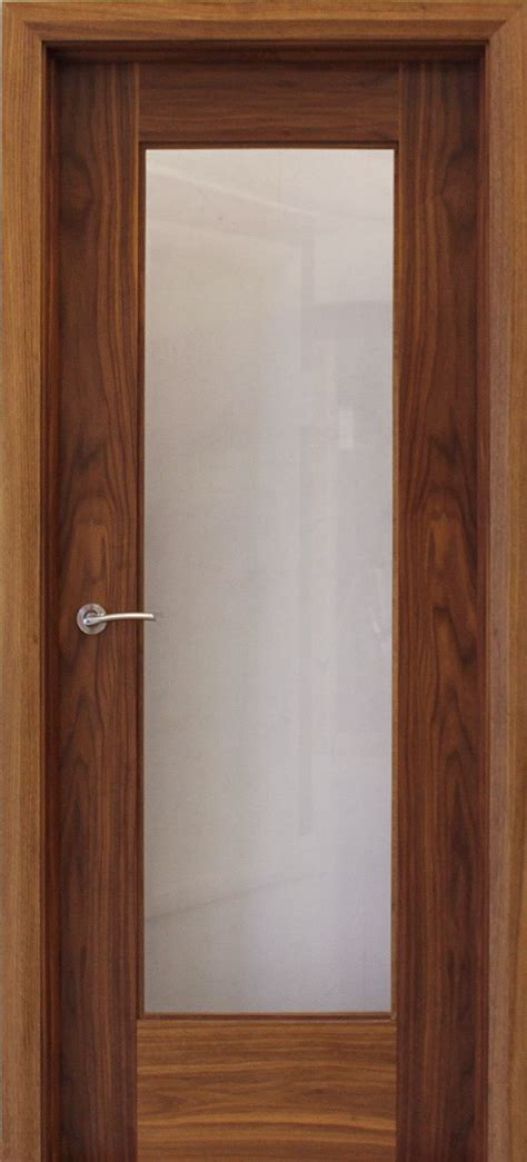 Doors In by Shaker 1 Lite Walnut Door 40mm Doors Walnut