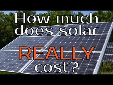 how much does a whole house solar system cost how much does solar really cost does it to be expensive in the real world
