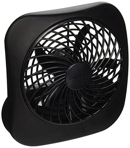 o2cool 10 inch battery operated fan o2cool fd0500400o006amb 5 inch portable fan black