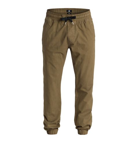 tapered pant s hem tapered fit edynp03056 dc shoes