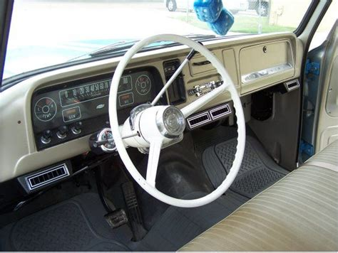 paint fawn interior 60s chevy c10 misc