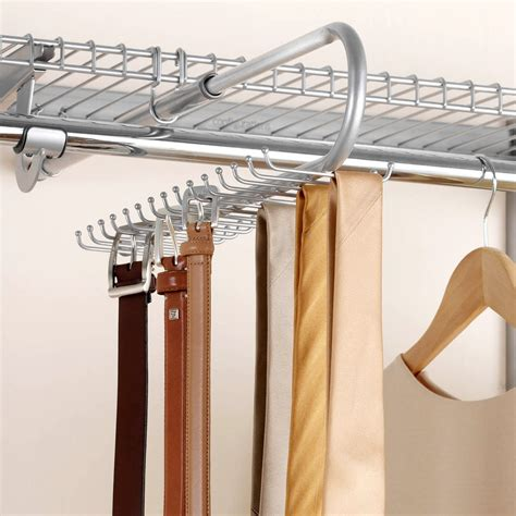 Rubbermaid Tie And Belt Rack by Rubbermaid Configurations Add On Tie And Belt Valet
