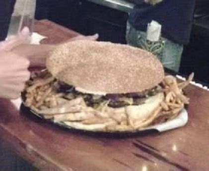 the backyard grill s beast burger challenge