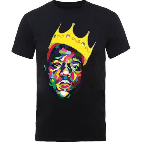 Tshirt Big notorious big biggie smalls mens black t shirts tupac rap