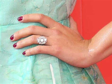 johansson deco ring johansson shows engagement ring today