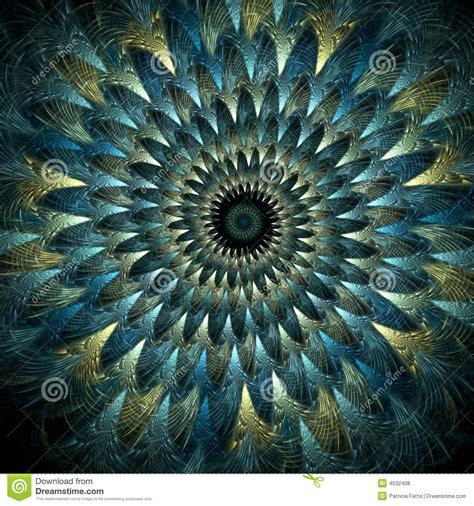 imagenes abstractas reales espiral emplumado del pavo real fotos de archivo libres de