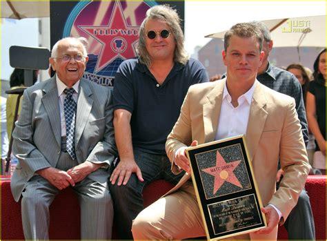 Matt Damon Gets His Walk Of Fame by Matt Damon Gets Walk Of Fame Photo 506011