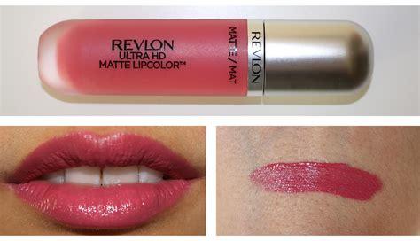 Revlon Lip Color matte lipglosses revlon ultra hd matte lipcolor review