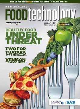 Food Technology new zealand food technology news since 1965