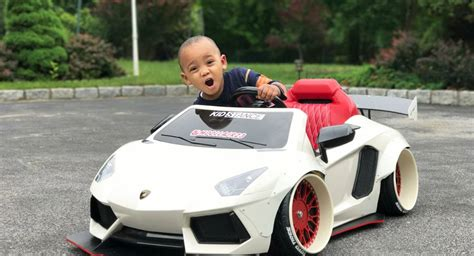 kid car kidstance builds customized luxury power wheels cars for