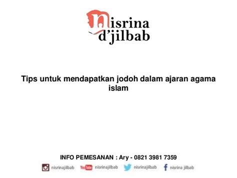 ajaran agama islam tips untuk mendapatkan jodoh dalam ajaran agama islam