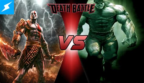 movie thor vs kratos hulk vs kratos death battle fanon wiki fandom powered