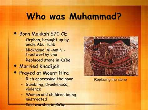 biography prophet muhammad wives islam powerpoint wh
