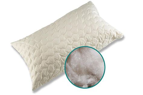 organic bed pillows organic cotton kapok filled pillows natural bed company
