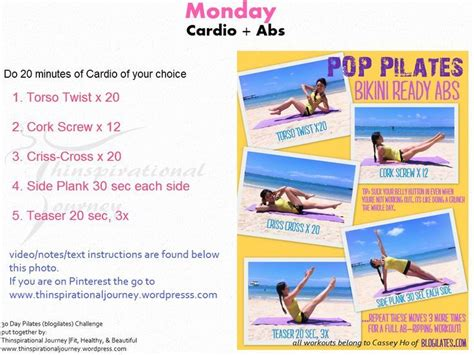 pilates 30 day challenge 30 day pilates workout challenge