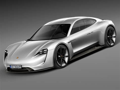 porsche prototype 2015 2015 porsche concept 3d model