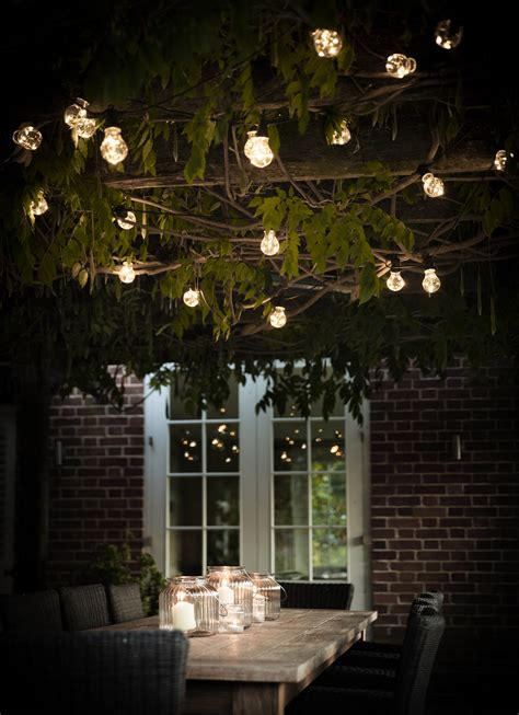 Trellis Cafe 38 Innovative Outdoor Lighting Ideas For Your Garden