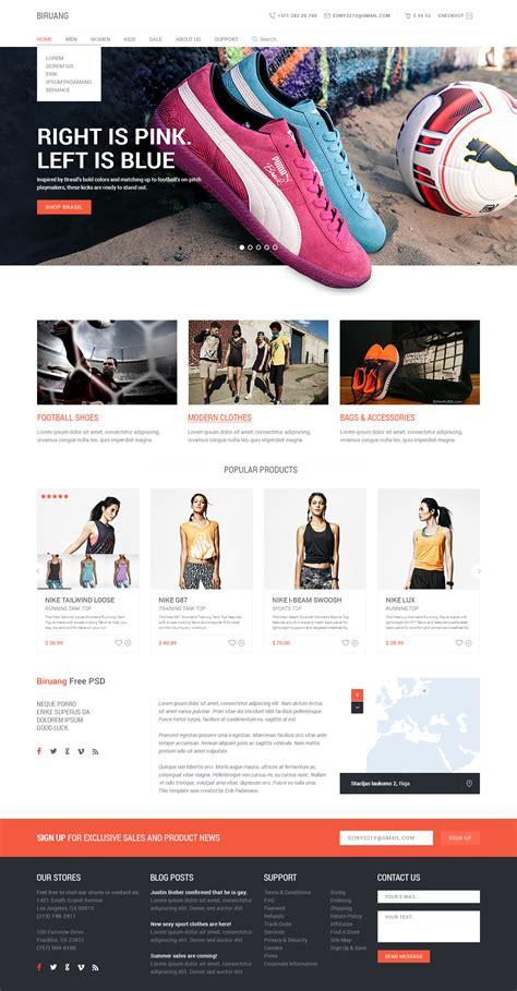 Biruang Free Psd Website Template Freebies Gallery Best B2b Website Templates