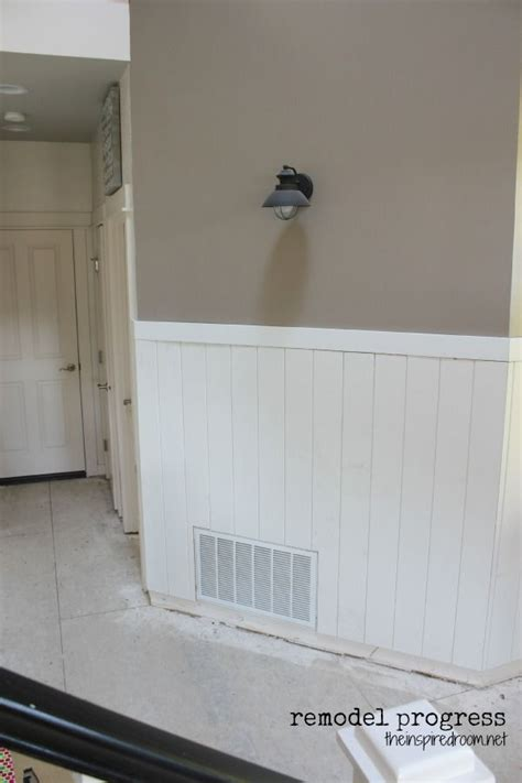 Plank Wainscoting by 1000 Ideas About Planked Walls On Plank Walls