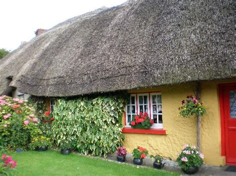 Adare Ireland Thatched Cottages by Thatched Roof Cottage In Adare Ireland Picture Of