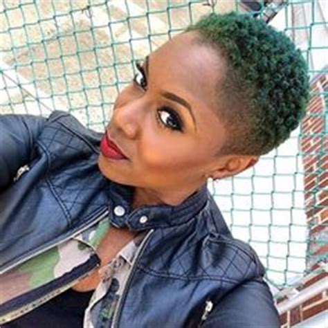 green low cut natural hair cool hair styles pinterest twa tapered on pinterest big chop tapered twa and short