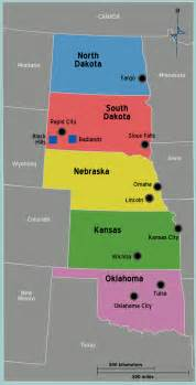 usa great plains map mapsof net