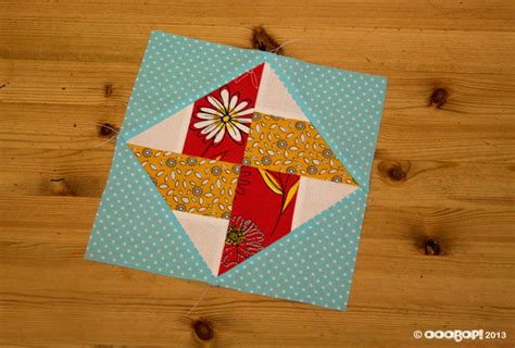 Square Quilt Block by Louisiana Ooobop
