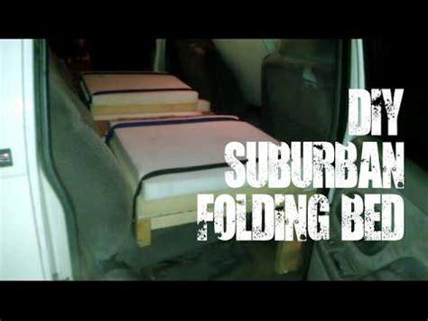 Diy Folding Bed Diy Folding Bed For Gmc Chevy Suburban
