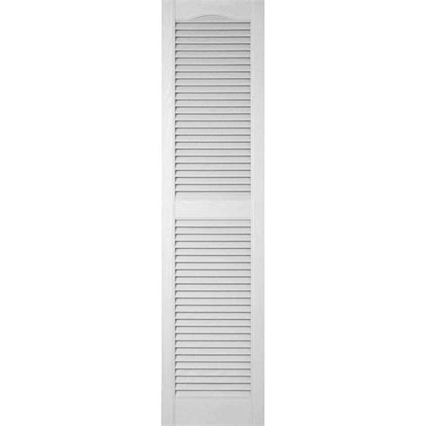 Plantation Faux Wood White Interior Shutter by Homebasics Plantation Faux Wood White Interior Shutter
