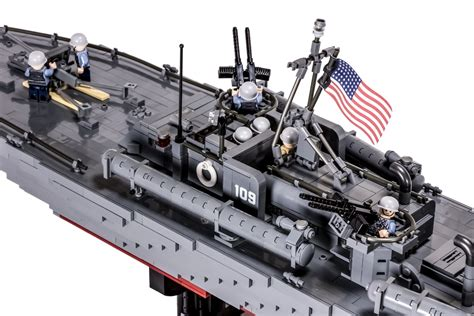 pt boat 109 pt 109 elco 80 motor torpedo boat brickmania toys