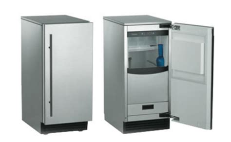 under cabinet ice maker with pump scotsman sccp50ma 1ss 15 quot brilliance outdoor stainless